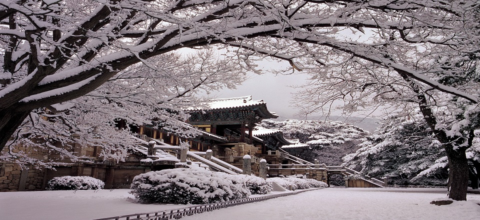 Bulguksa winter
